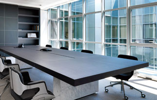 Conference Room - Wood Grain Laminates