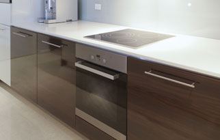Wood Grain Laminates Cabinetry